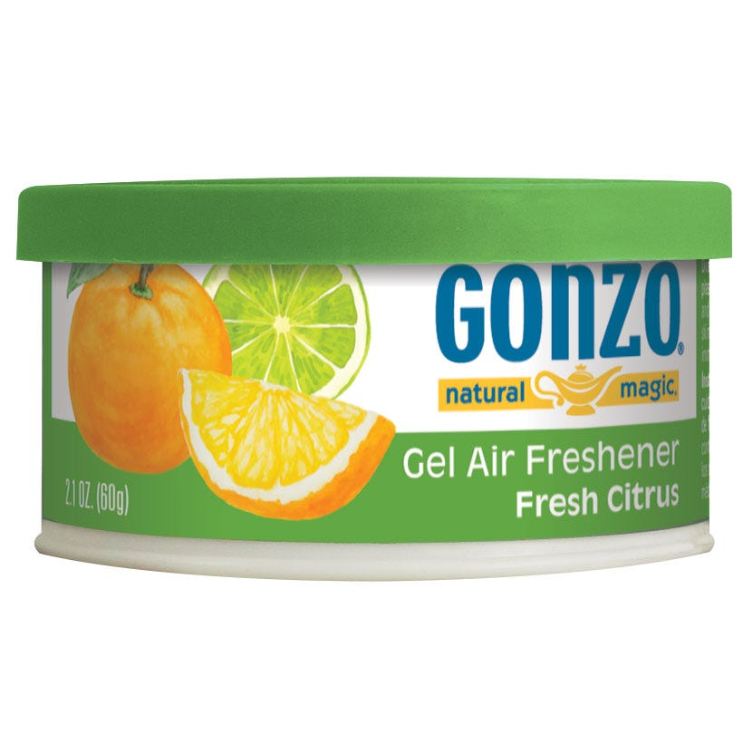 Citrus Air Freshener Tin