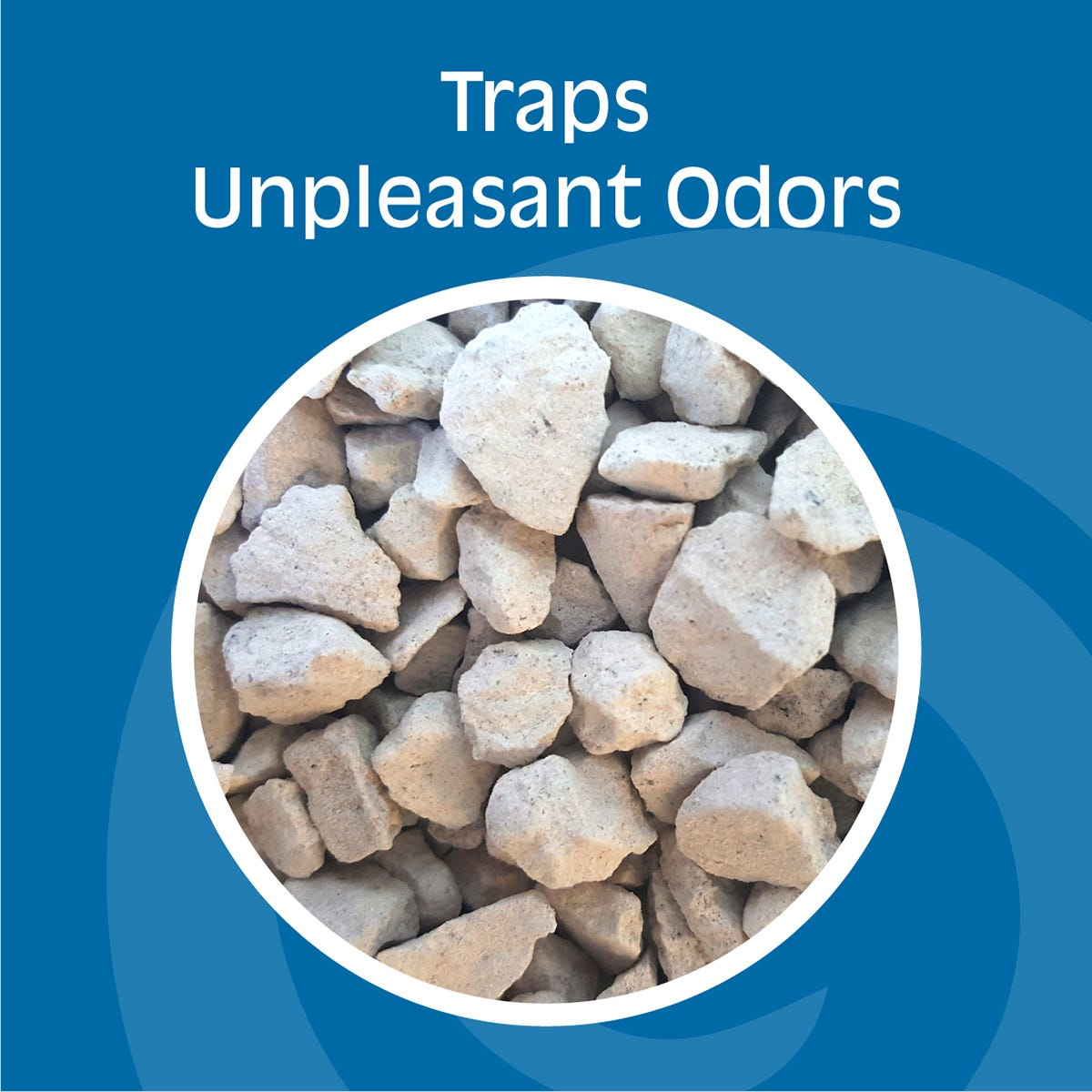 Odor Trapping Rocks