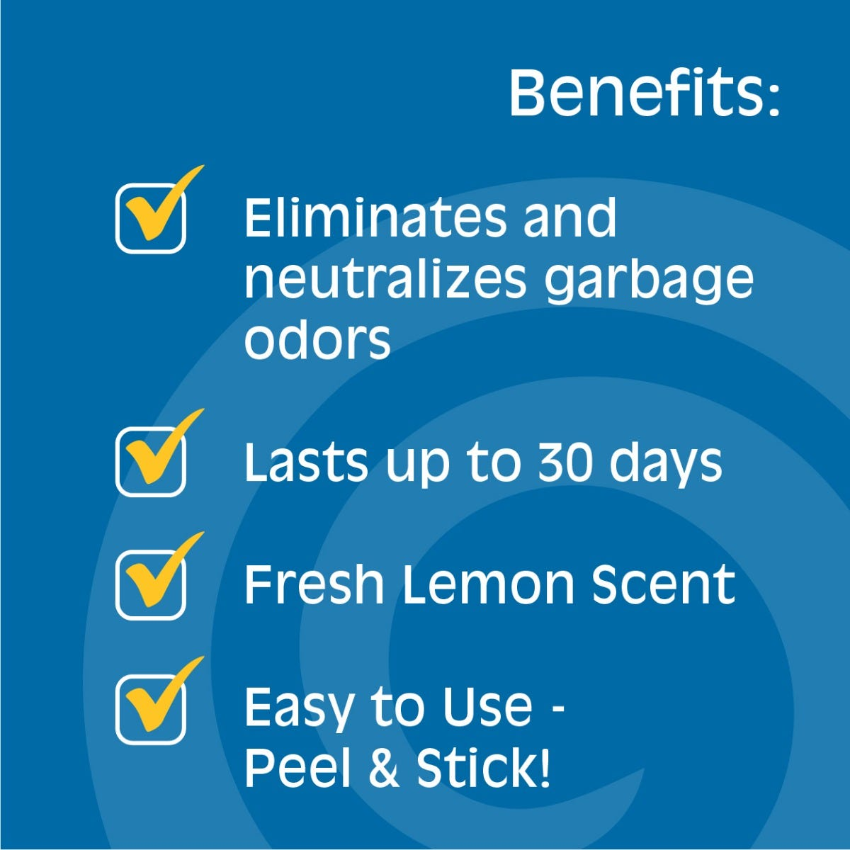 Benefits of garbage odor eliminator